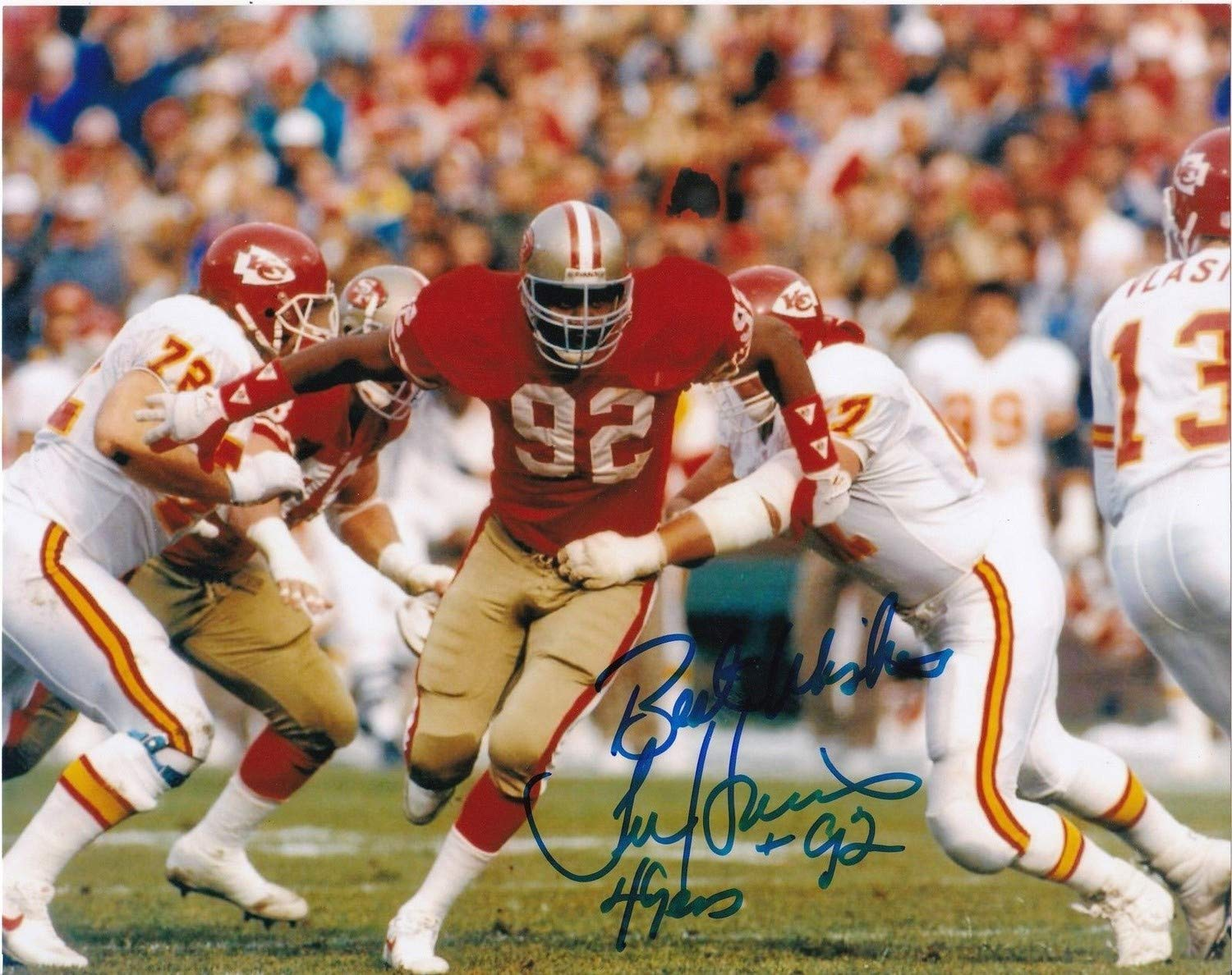 fc2530dcb Tim Harris San Francisco 49ers Autographed Signed 8x10 Photo - Certified  Authentic at Amazon s Sports Collectibles Store