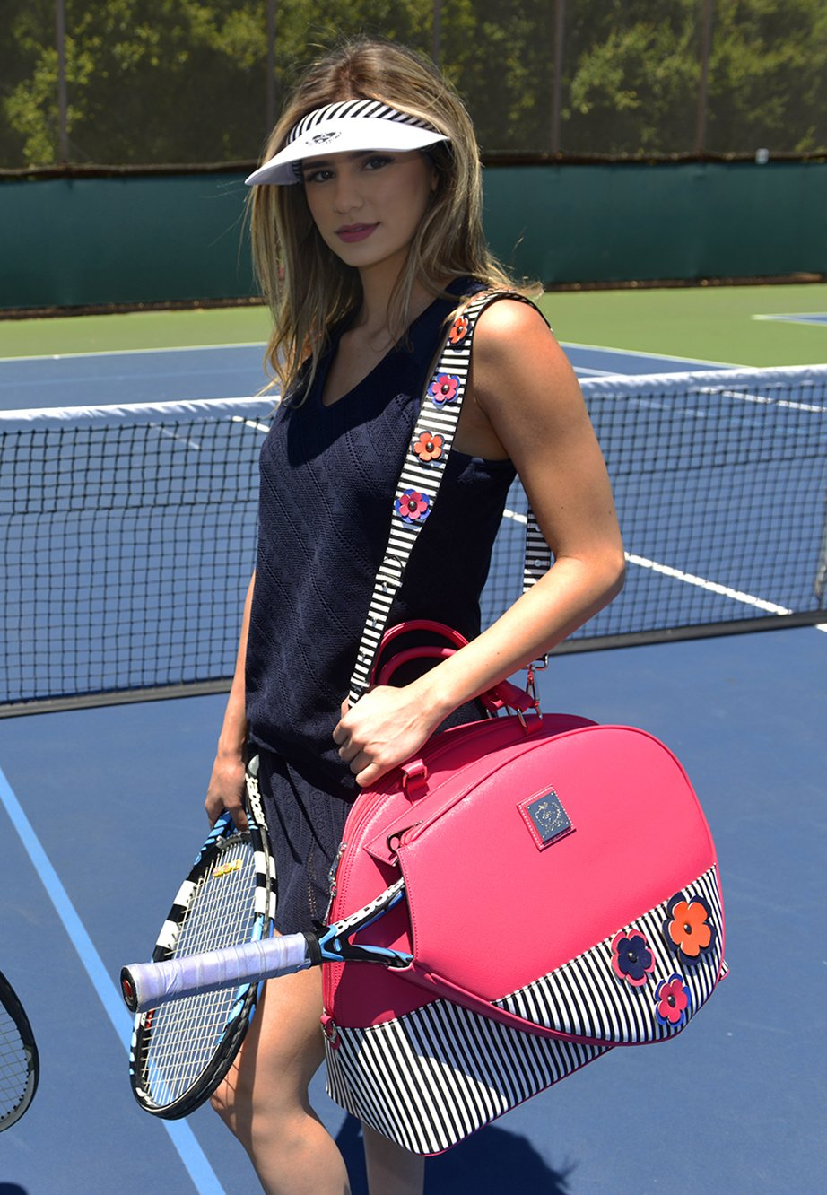 Court Couture Ella Berry Tennis Bag