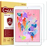 """[2 Pack] iPad 9.7"""" (2018 & 2017) / iPad Pro 9.7 / iPad Air 2 / iPad Air Screen Protector, OMOTON Tempered Glass Screen Protector – Ultra Clear / 2.5D Round Edge/Scratch Resistant"""