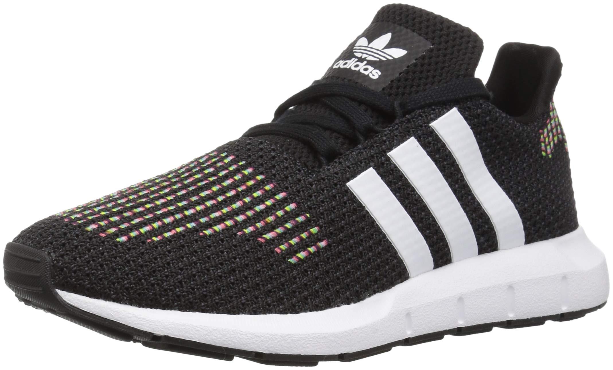 adidas Originals Women's Swift W Running-Shoes,core black/white/core black,8.5 M US