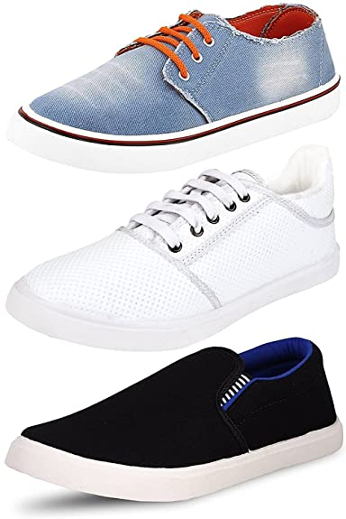 69db69078db Ethics Perfect Men s Combo Pack of 3 Loafer Shoes for Men (9)  Buy ...