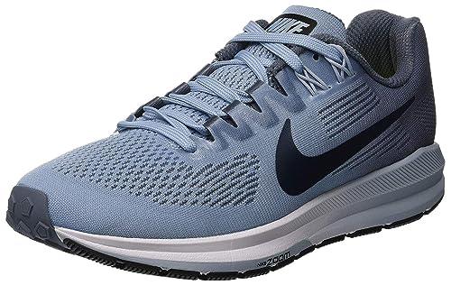 wholesale dealer 1be87 5668f Nike W Air Zoom Structure 21 Zapatillas de Deporte, Mujer, Armory  Navy/Cirrus Blue 400, 44 EU: Amazon.es: Deportes y aire libre