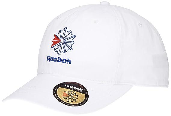 Reebok Men Caps Snapback Cap Classic White - 543665 Adjustable ... 65c571fdf7e