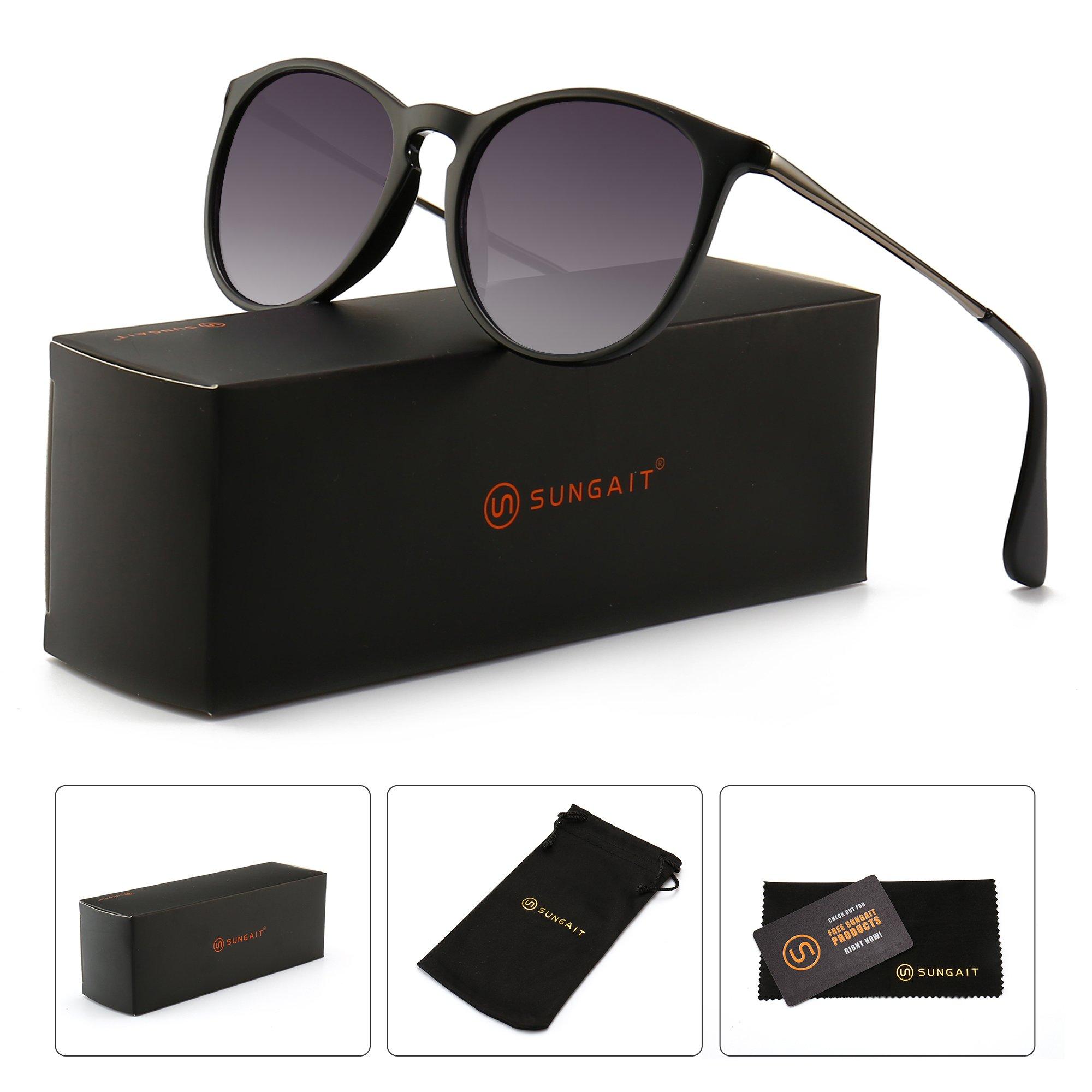 8344046dd4 SUNGAIT Vintage Round Sunglasses for Women Classic Retro Designer Style