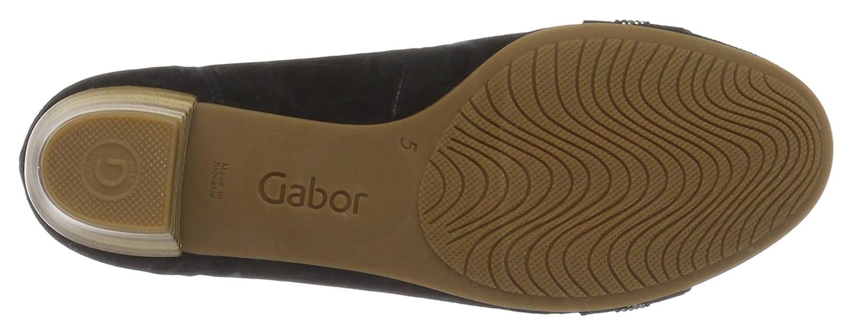 Gabor Ballerinas Damen Comfort Geschlossene Ballerinas Gabor Blau (Pazifik 26) a64e30