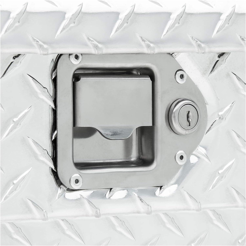 UWS TBS-69 Single Lid Slim Line Aluminum Toolbox with Beveled Insulated Lid