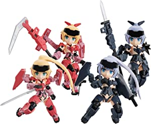 Desktop Army Frame Arms Girl KT-323f Jinrai Series 4Pack Box