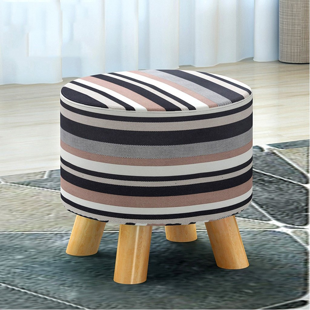 Ali Banco Pequeño Taburete De La Moda Bajo Taburete Sentado En Creativo Pier Paño Inicio Sofá Taburete (Color : En Sentado Blanco y Negro) bb3c09