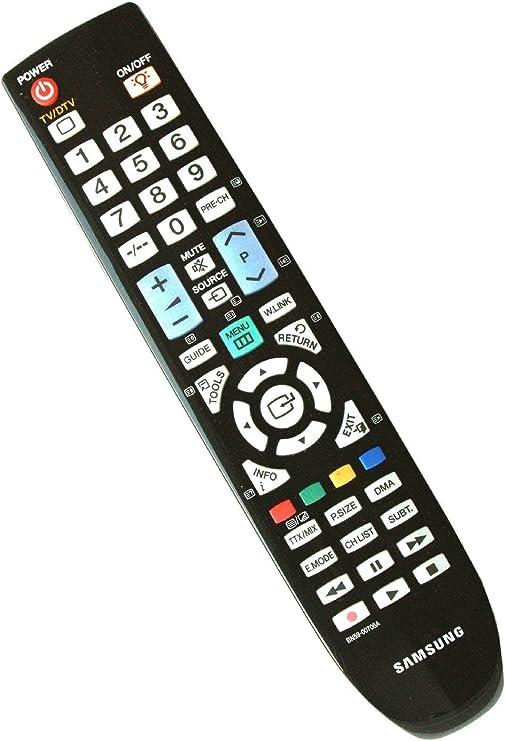 Samsung BN59-00706A - Mando a Distancia (Audio, Sistema de Cine en casa, TV, IR inalámbrico, Botones, Negro): Amazon.es: Electrónica