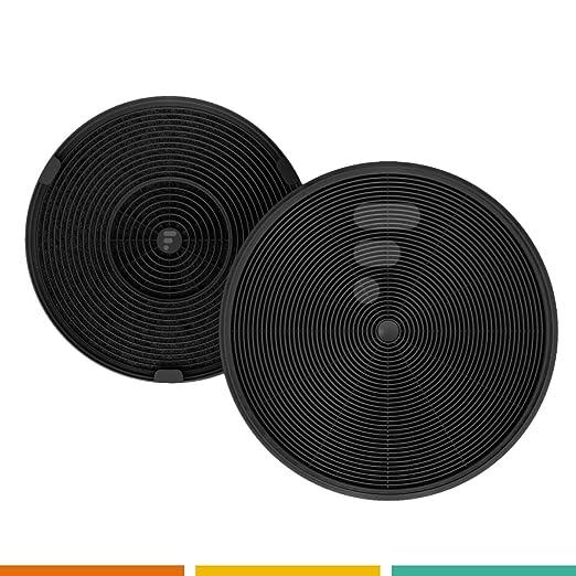 Fac FC03 - Filtro a carboni attivi per cappa da cucina - Compatibile roblin  5403004 Franke 445927 Faber 6093021 Falcon Wi Electrolux Eff62 Bosch ...