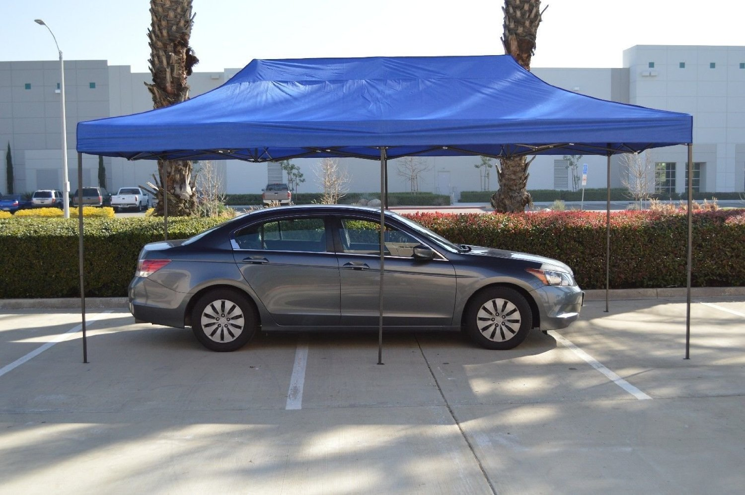 American Phoenix Canopy Tent 10x20 foot Blue Party Tent Gazebo Canopy Commercial Fair Car Shelter