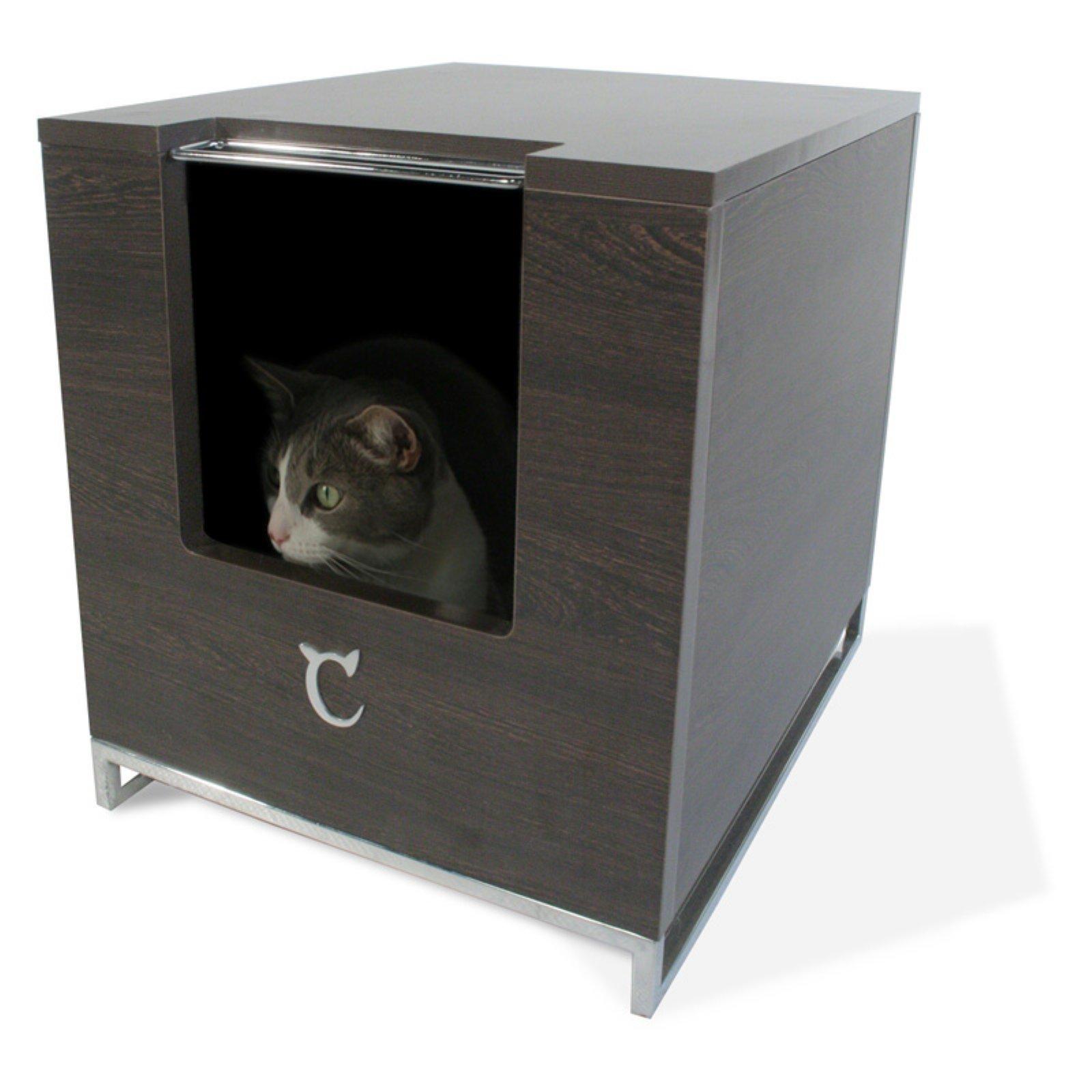 Modern Cat Designs TT-LH01-W Litter Box Hider44; Glossy White