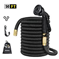Anteko 50ft Strongest Expandable Water Hose 8 Functions Sprayer Deals