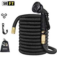 Anteko 50ft Strongest Expandable Water Hose 8 Functions Sprayer