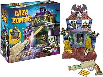 Juguetes Falomir- Juego Caza Zombis con Pistola Laser, Multicolor (27270): Amazon.es: Juguetes y juegos