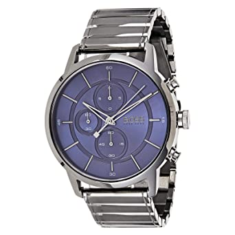 b0ee81636 Hugo Boss Architectural Men's Blue Dial Stainless Steel Watch - 1513574