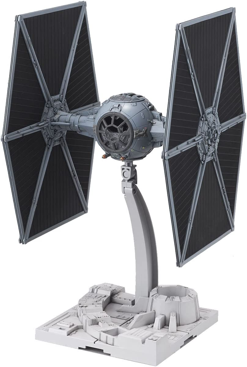 B00RYSAWVS Bandai Hobby Star Wars 1/72 Tie Fighter Building Kit 71O1Qrs52BwL