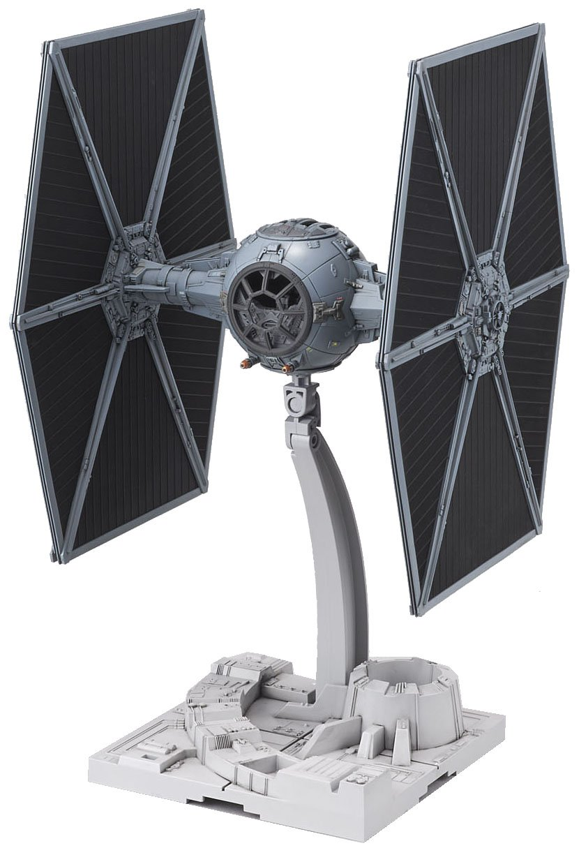 1 X Bandai 1/72 Star Wars Tie Fighter Model Kit BAN194870