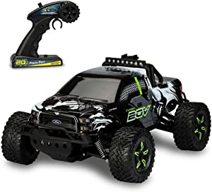 Kid Galaxy 20V Ford F150 Remote Control Truck, Platinum Ed. 1/10 Scale, Fast 25 mph All Terrain Off-Road RC Car. RTR Rechargeable