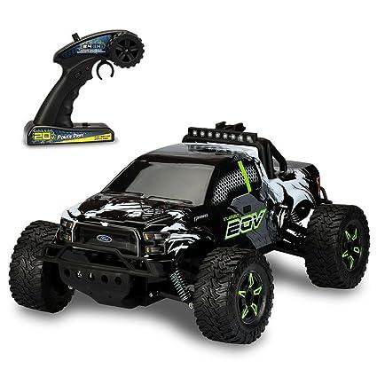 Amazon.com: Kid Galaxy Ford f150 Remote Control Truck. Fast 30 MPH on traxxas rc truck sale, rc baja truck, rc truck parts, rc gas trucks sale, rc truck bodies,