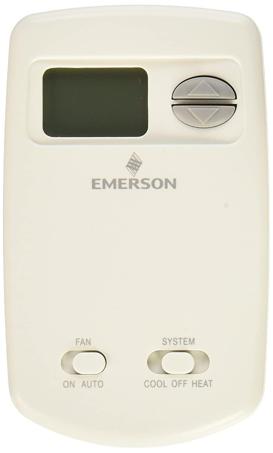 Emerson 1F78-144 Digital Heat/Cool Thermostat, Vertical
