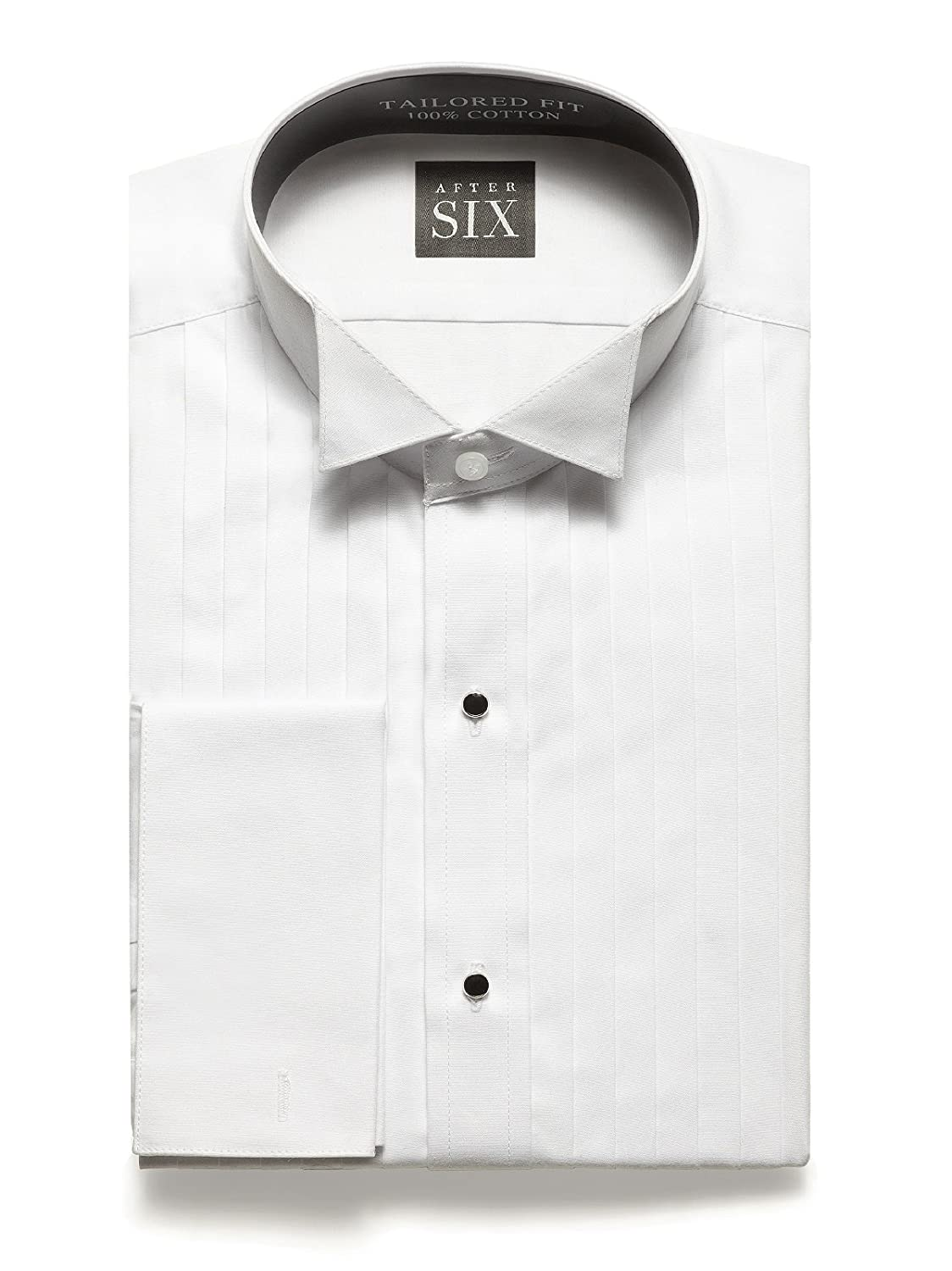 Graham Slim Fit Formal Wing Collar Tuxedo Shirt By After Six From