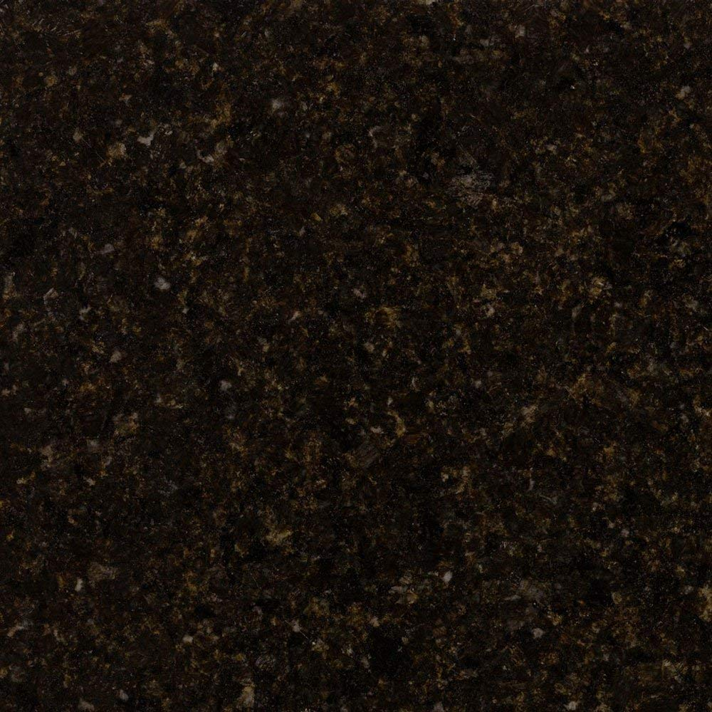 Instant Granite Black Granite Counter Top Film 36'' x 144'' Self Adhesive Vinyl Laminate Counter Top Contact Paper Faux Peel and Stick Self Application by Instant Granite