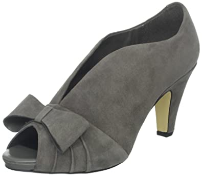 separation shoes cb2ee aad52 Bella Vita Women's Bianca Platform Pump, Grey Kidsuede, 6.5 ...