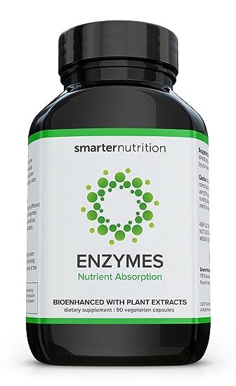 Amazon.com: Smarter Nutrición enzimas para absorción de ...