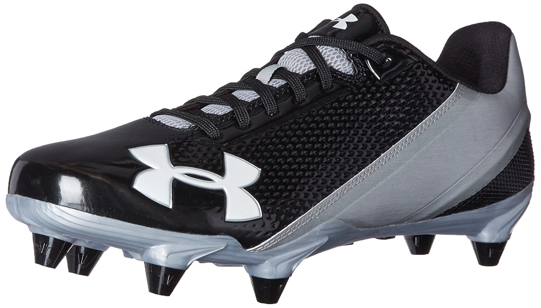 Under Armour Men's Speed Phantom Low D Football Shoe B01G8U6WV6 7.5 M US Black (002)/Metallic Silver