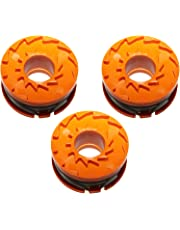 First4Spares Premium Replacement Spool and line for Qualcast 18v Li-Ion Series Grass Trimmers - Triple Pack