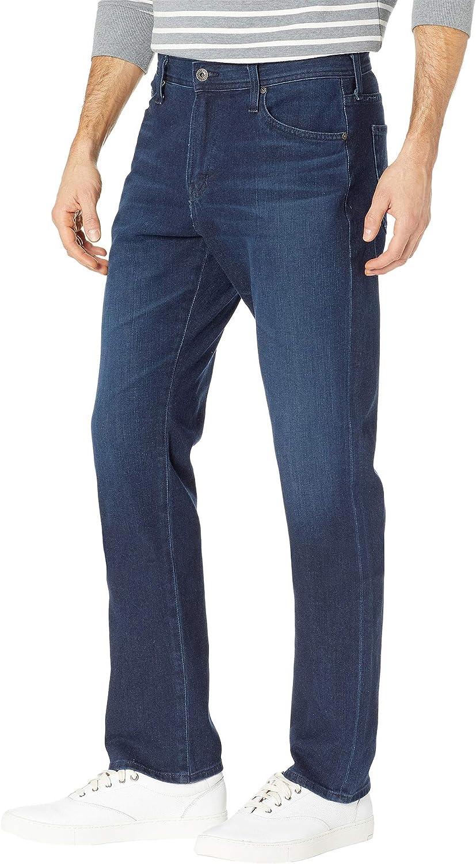 AG Adriano Goldschmied Mens Everett Slim Straight Leg Denim Jeans in Equation