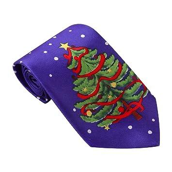 Joyibay Corbata De Navidad Gracioso Novedad Corbata Navideña ...