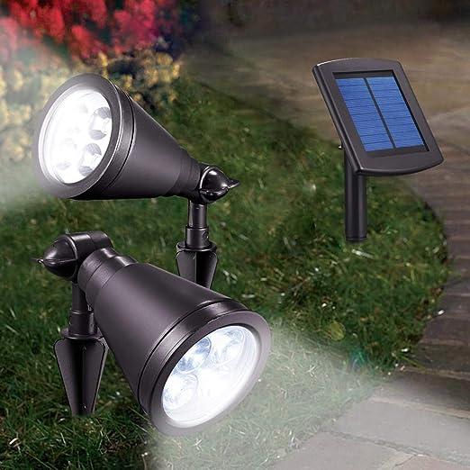 Beckmann Solar Foco para jardín SYB: Amazon.es: Iluminación