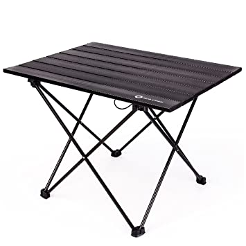 Amazon.com: TRIWONDER Mesa plegable ultraligera de aluminio ...