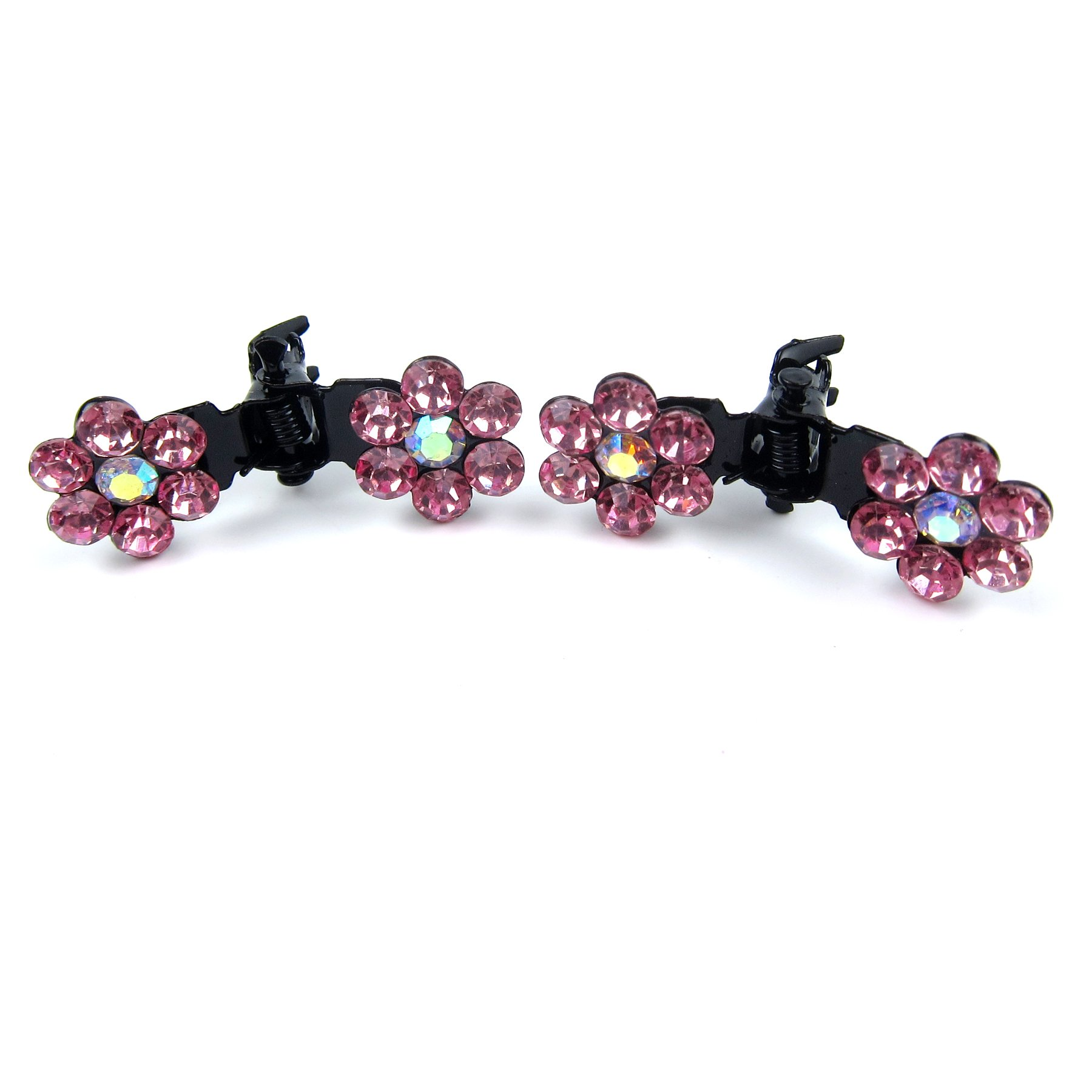 Alfie Pet by Petoga Couture - Dasie Rhinestone Flower Hair Clip 20-Piece Set for Dogs, Cats and Small Animals by Alfie (Image #4)