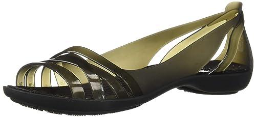 c0ecba5b0a7f crocs Women s Isabella Huarache 2 Flat W Ballet  Buy Online at Low ...