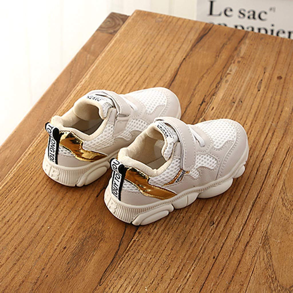 Baby Toddler Girls Boys Tennis Shoes Sneakers for 1-6 Years Old Children Fashion Mesh Patchwork Sport Shoes