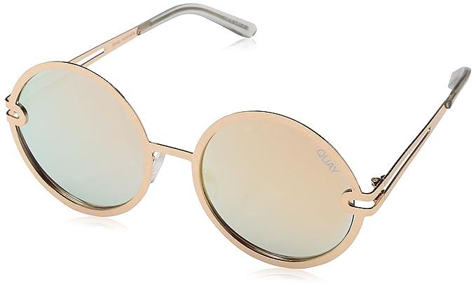 b89d8ef25de7d Quay Women  s Eyewear 135 Sunglasses Ukiyo goldrose wRpxwZn5