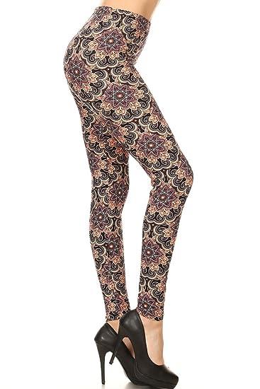 PLUS Soft Printed Leggings