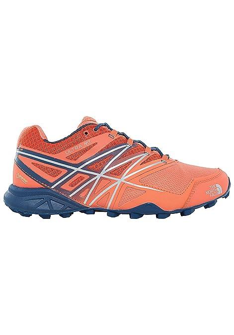 The North Face W Ultra MT GTX, Zapatillas de Senderismo para Mujer, Naranja (