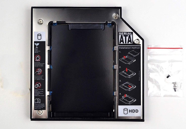 3CTOP SATA 2 nd Disco Duro SSD Bandeja Caddy para Acer Aspire E1 ...