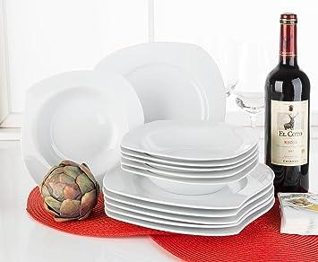 Tafel 6 Personen : Home4you tafelservice geschirrset tafel service nowell 12 tlg. 6