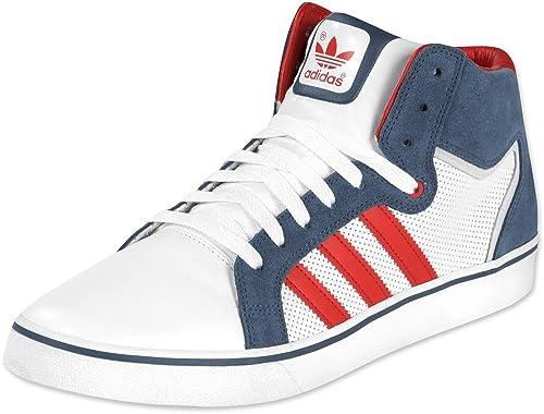 Adidas Superskate Vulc Mid ST Schuhe 9,0 whtbluel.scarlet