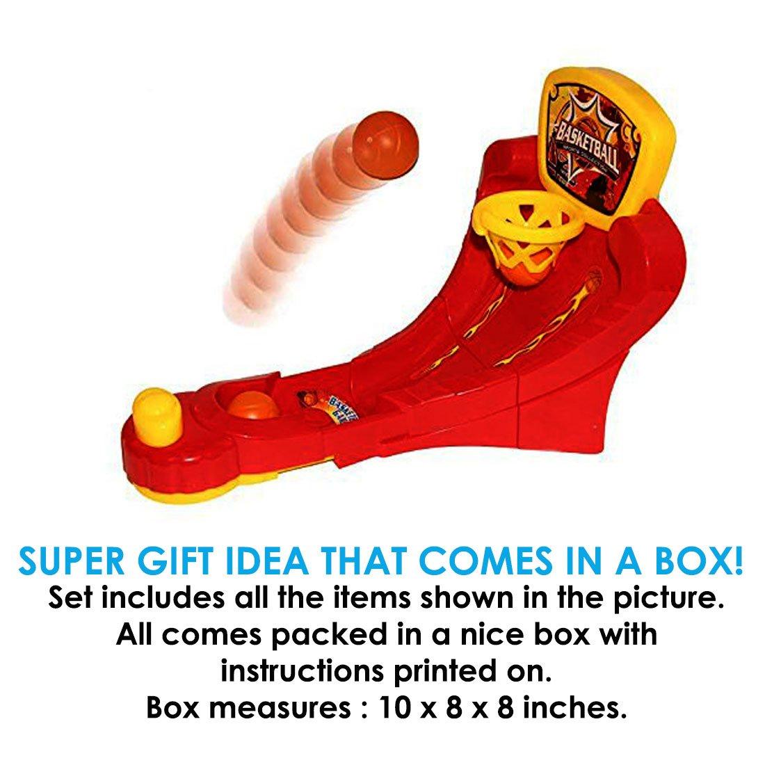 Toy Cubby Tablero de Mesa de Baloncesto Juego Slap n Shoot Mini ...