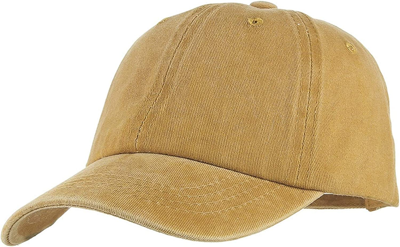 Kids Hats Canvas Baseball Cap Boys Girls Street Fashion Baseball Hat Solid Color Denim Visor Cap Sport Sunhat Peak Cap,Pink,48-52 cm