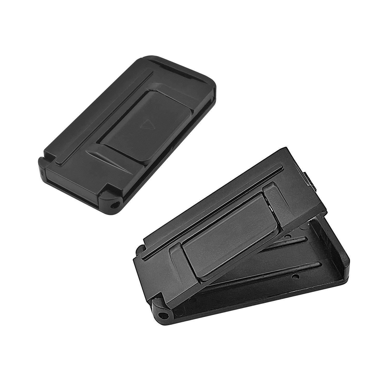 Smart Adjust Seat Belts to Relax Shoulder Neck Cousduobe Car Seat Belt Adjuster Seatbelt Clips 2PCS // Black