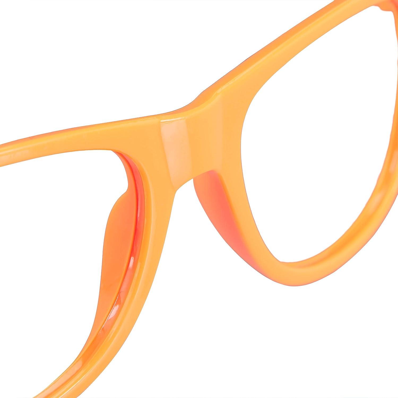lustige Brillen f/ür Fasching /& Karneval bunt Neon Brillen One Size HBT 4,5x14,5x15 cm Relaxdays Partybrille 4er Set