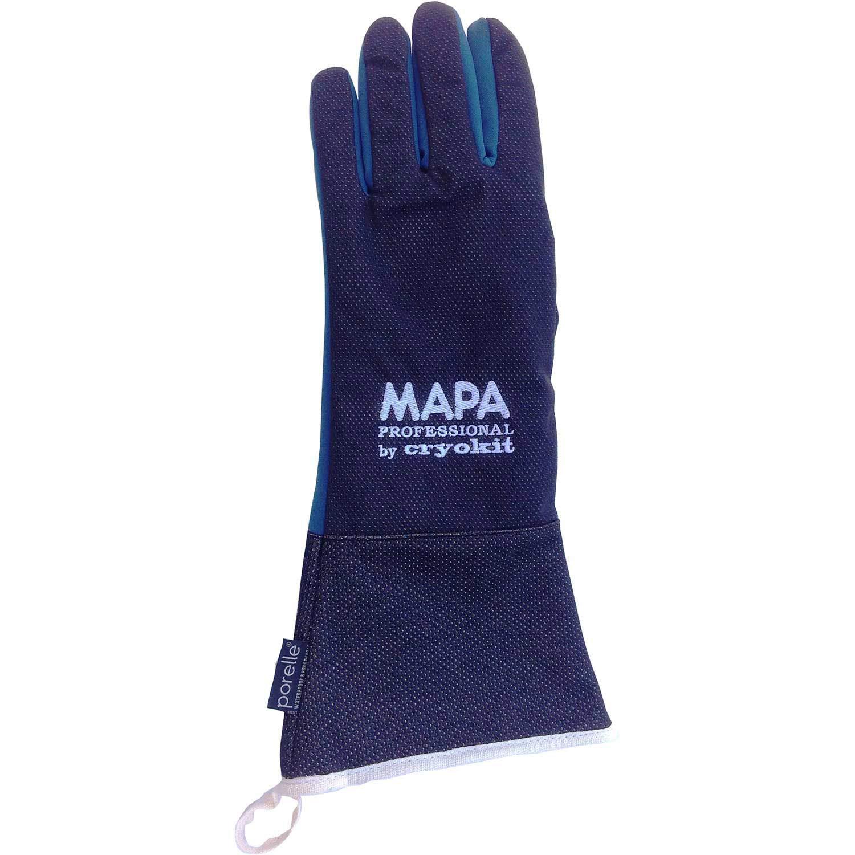 MAPA Professional CRYKIT400408 CRYOKIT400 Cryogenic Glove, (16''-Ma), Size 8, PR 1, Blue