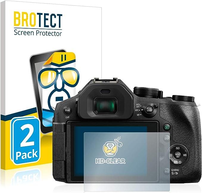 Membrane Panasonic Lumix DMC-FZ300 Film de Protection /écran Screen Protector 3 Pack - Ultra clair